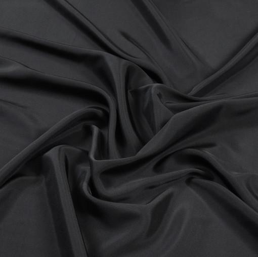 Стрейчевый подклад черного цвета