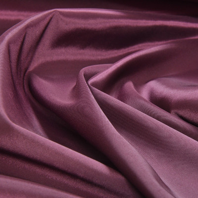 Стрейчевый синтетический подклад цвета баклажан