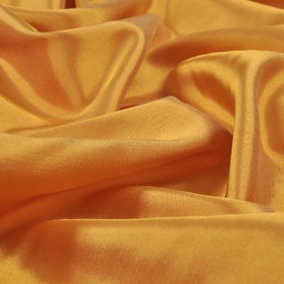 Вискозный стрейчевый подклад горчичного цвета