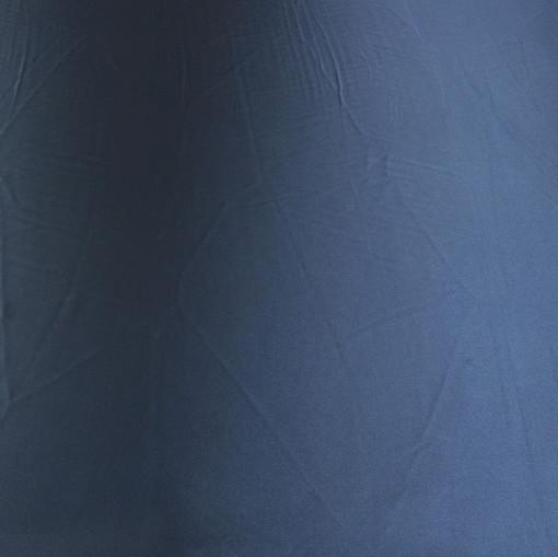 Атлас стрейч синий