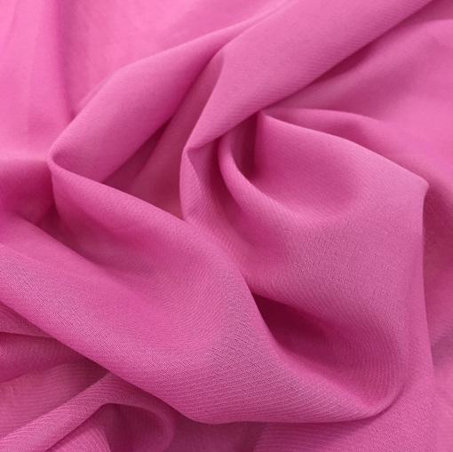 Хлопок тонкий батист розового цвета
