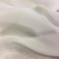 Вискоза блузочная полупрозрачная молочного цвета