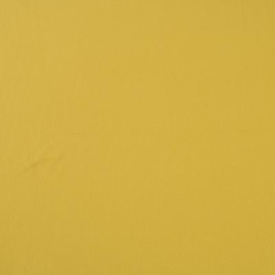 Вискозный однотонный трикотаж горчичного цвета