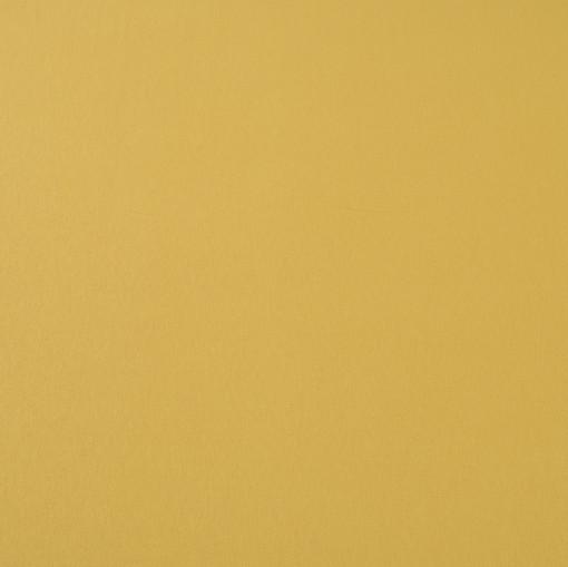 Вискозный однотонный трикотаж горчично-желтого цвета