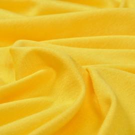 Вискоза с эффектом стрейч апельсинового цвета