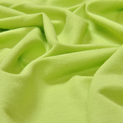 Вискоза-стрейч цвета свежего салата
