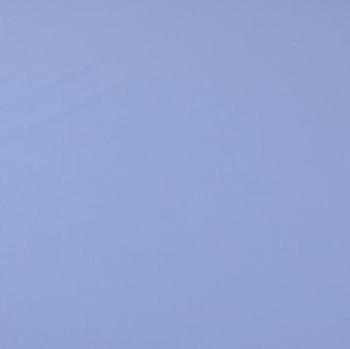 Небесно-голубой вискозный трикотаж с фиалковым отливом