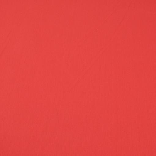 Вискоза-стрейч насыщенного макового цвета