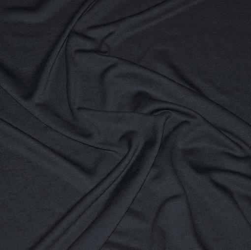 Вискозный трикотаж графитово-серого цвета