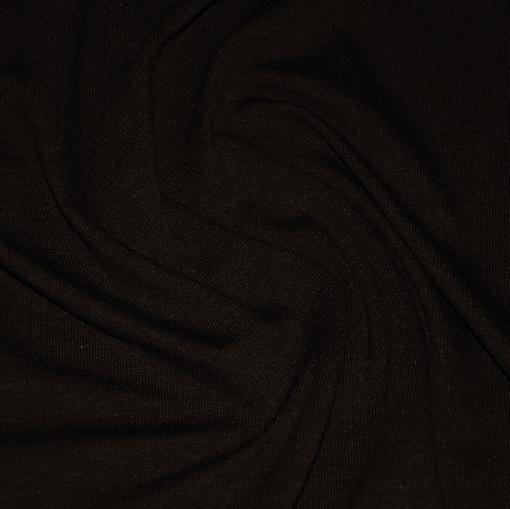 Вискозный трикотаж цвета горького шоколада