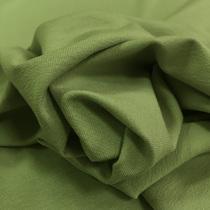 Трикотаж вискозный мягкий оливкового цвета