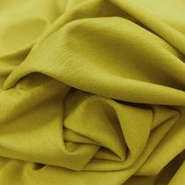 Трикотаж вискозный мягкий цвета лайм в желтый тон