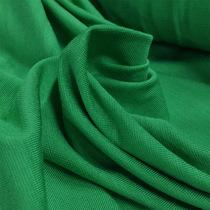 Трикотаж вискозный мягкий зеленого цвета