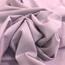 Трикотаж вискозный мягкий холодного розового цвета