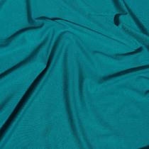 Трикотаж вискозный ярко-голубого цвета
