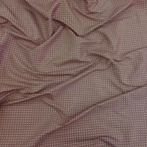 Подкладка жаккардовая Hugo Boss квадратики на пыльно-сиреневом фоне