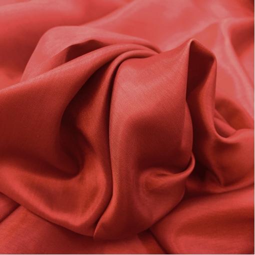 Подкладка стрейч красного цвета