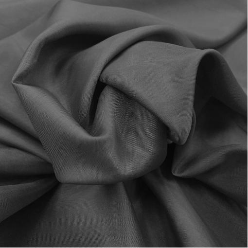 Подкладка стрейч темно-серого цвета