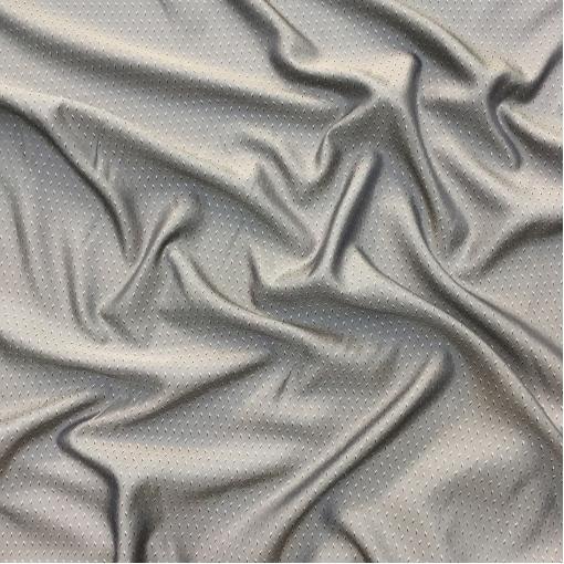 Подклад вискозный жаккардовый Max Mara средне-серого цвета