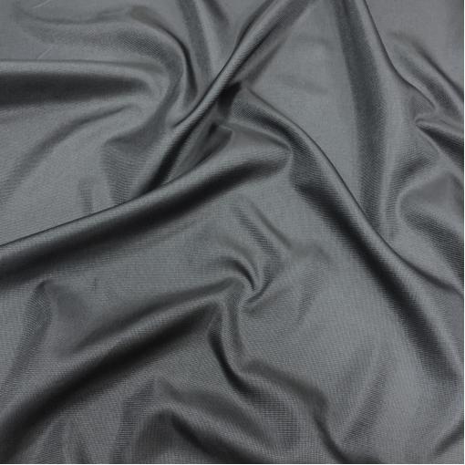 Подкладка вискозная жаккардовая сизо-серого цвета мелкие ромбики