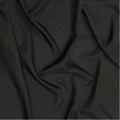 Подкладка вискозная жаккардовая с логотипом Hugo Boss черного цвета в точечку
