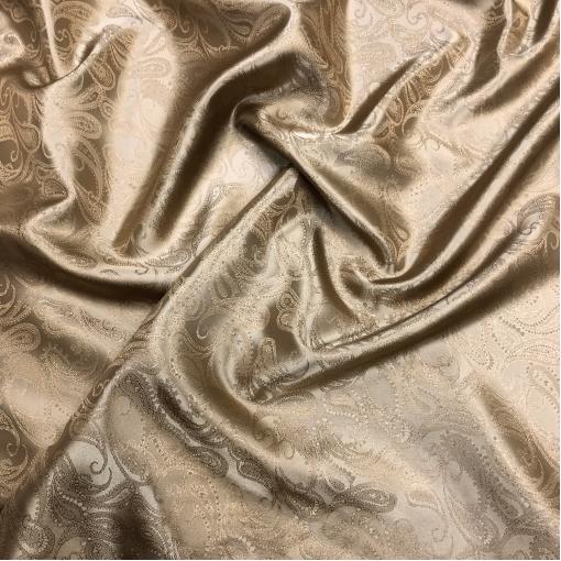 Подкладка вискозная жаккардовая ETRO цвета золотистый кемел