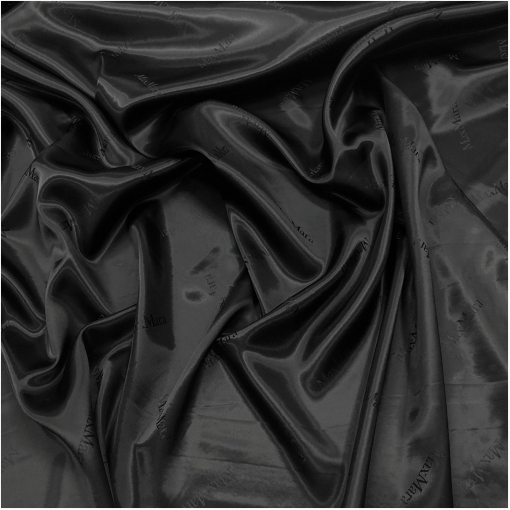 Подкладка вискозная дизайн Max Mara черного цвета