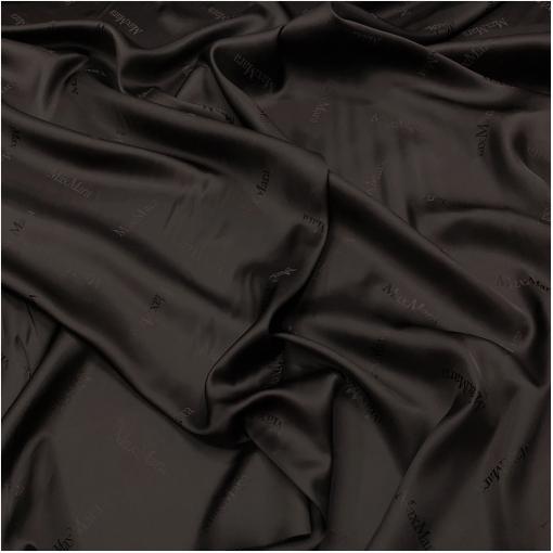 Подкладка вискозная дизайн Max Mara цвета горького шоколада