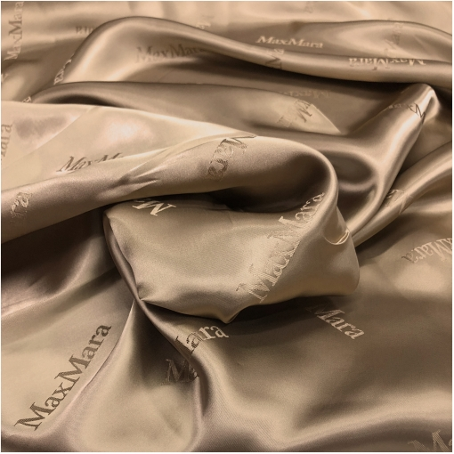 Подкладка вискозная дизайн Max Mara золотистого цвета