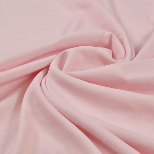 Плотный лен цвета розового жемчуга