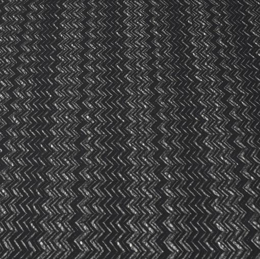 Матово-черный полупрозрачный вискозный трикотаж Missoni