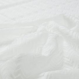 Вискозный трикотаж белого цвета деворе Missoni
