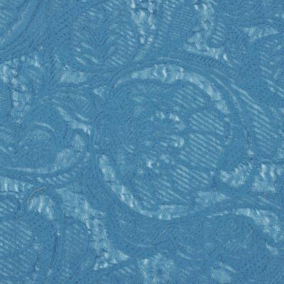 Трикотажная ткань Missoni с декором деворе, вискоза-акрил, цвет – морская волна