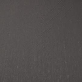 Плотный шерстяной трикотаж темно-шоколадного цвета