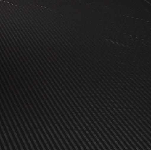 Тонкий вискозный трикотаж черного цвета с диагональным принтом