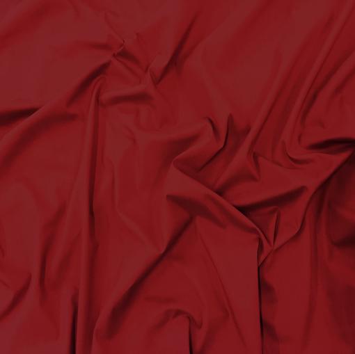 Хлопок рубашечный стрейч кроваво-красного цвета