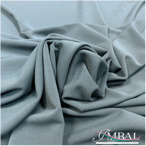 Трикотаж плательный скользкий сизо-серого цвета