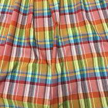 Хлопок рубашечный стрейч принт Burberry красно-желтая гамма