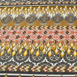 Хлопок-стрейч с восточным орнаментом