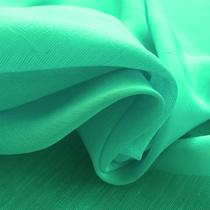 Лен тонкий типа марлевки цвета молодой зелени