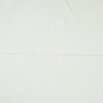 Вискозный трикотаж деворе, цвет – кипельно-белый