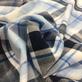 Хлопок рубашечный мягкий Burberry в голубую клетку