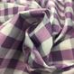 Хлопок рубашечный мягкий Burberry в сиреневую клетку