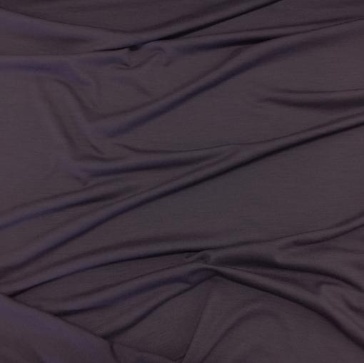 Трикотаж шерстяной тонкий пыльно-сиреневого цвета