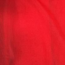 Муслин хлопок с шелком алого цвета