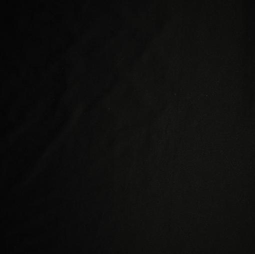 Жаккардовый черный костюмный хлопок с мелким рисунком