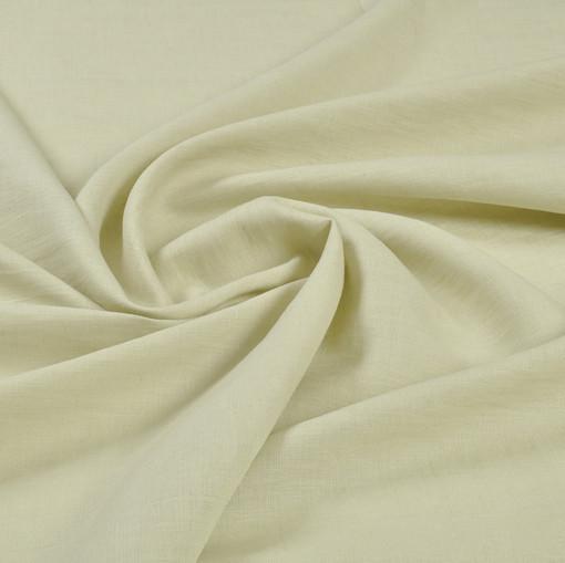 Плотный лен бледного фисташкового цвета