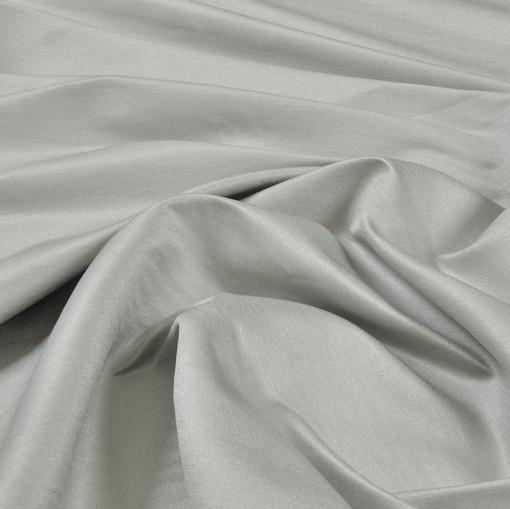 Лён с шелком стрейч грязно-фисташкового цвета