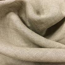 Лен тонкий натурального серо-песочного цвета
