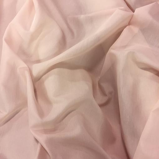 Муслин хлопок с шелком цвета пудры